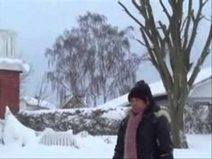 The souvenir  video .Snow falls in Sæby