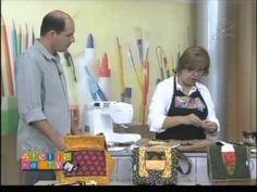 Patchwork Ana Cosentino: Bolsa Ondas Simples