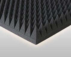 Akustik 1 Stk. Pyramidenschaumstoff, Schaumstoff Pyra 7000 Höhe 7cm in TV, Video & Audio, TV- & Heim-Audio-Teile, Lautsprecher-Teile | eBay