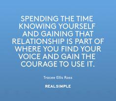 Inspiring words from Tracee Ellis Ross.