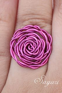 Of wire rings and things...if I wore jewelry more often, this would be in my stash!