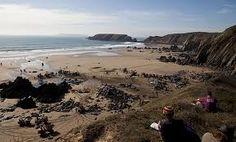 marloes beach wales - Google zoeken