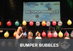 Bumper Bubbles | Fun Ninja Youth Group Games