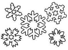 simple snowflake coloring pages - Free Coloring Pages Snowflakes