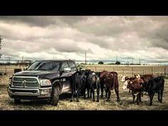 So God Made A Farmer  - Super Bowl Commerical 201 - Dodge Ram