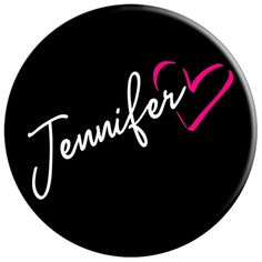 Jennifer Pink Heart First Name Calligraphy Design Jennifer Name, Pineapple Planting, Galaxy Phone Wallpaper, Birthday Name, Unique Names, Name Day, Baby Girl Names, Beautiful Gifts, Sign I