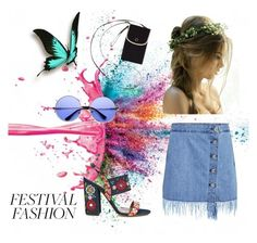 """""""Festival Fashion"""" by malina-husgovic ❤ liked on Polyvore featuring Givenchy, 3x1, Keds, ZeroUV and Tabitha Simmons"""