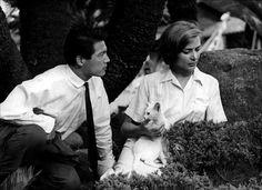 Eiji Okada and Emmanuelle Riva (He and She) from Alain Renais' Hirosima Mon Amour, 1959