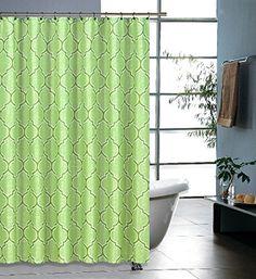 Regal Home Collections Printed Geo Lattice Shower Curtain, 70 by 72-Inch, Green Regal Home Collections http://www.amazon.com/dp/B00TS3YBN2/ref=cm_sw_r_pi_dp_eI0Zvb0F8CQM9
