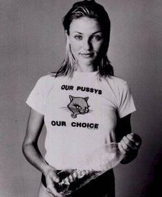 pro-choice + Cameron Diaz <3