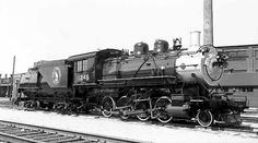 GN 1246 Back in 1953, after a thorough cleanup and painting by proud Interbay shop forces, in preparation for move to display at Woodland Park in Seattle.