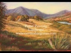 Pastel Landscape Painting Demonstration