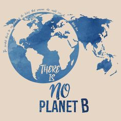 There Is No Planet B - Blue