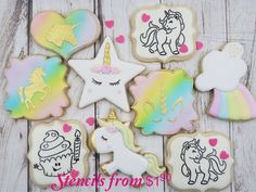 Our stencils are primarily used for decoration of cakes and cookies but they are perfect for craft and art project such as decoupage projects, airbrush t shirt, face painting, paint on canvas, fabric, wood etc..
