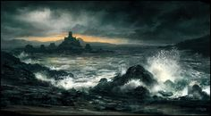 Crashing Waves by Andreas Rocha 1300px X 721px
