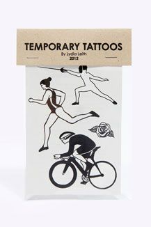 Lydia Leith Great Britain Temporary Tattoo