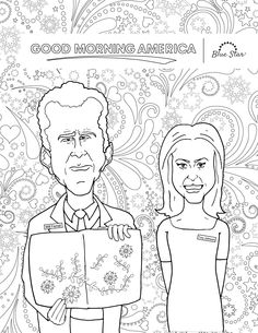 If You Havent Seen The Video Of Will Ferrel Trying To Color An Adult Coloring Book On Good Morning America Be
