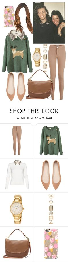 """""""Backstage with Harry & Anne❤️"""" by tinateva ❤ liked on Polyvore featuring Alice + Olivia, Witchery, Kate Spade, Accessorize, Mulberry and Casetify"""