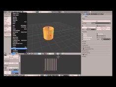 Second Life sculpted prim making by Blender2.62
