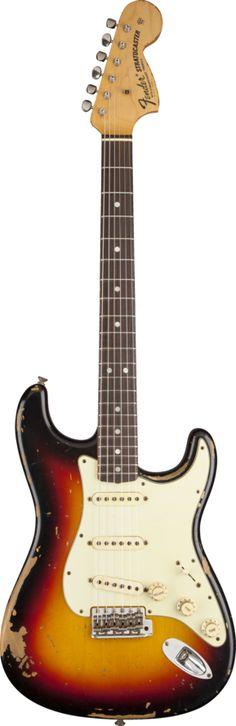 Michael Landau Signature 1968 Relic Stratocaster® Bleached 3-Color Sunburst