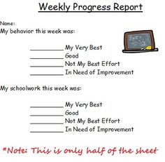 I totally used to do something like this--a little different for middle school weekly reflection on effort, quality of work, engagement in learning, etc.--I need to do this again!