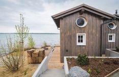 Seedatsche ZWEIUFER - 14 m² Urlaub am Ufer des Hainer Sees