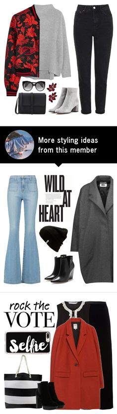 """""""Be Kind to Autumn"""" by sweet-jolly-looks on Polyvore featuring Vince, Alice + Olivia, Topshop, Gianvito Rossi, Alexander McQueen, Fall, casual and simple"""