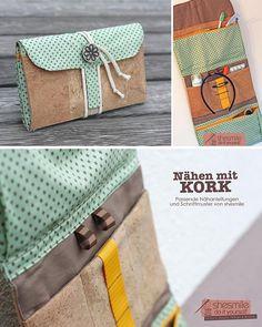 Kulturtasche für Reisen - Nähanleitung via Makerist.de