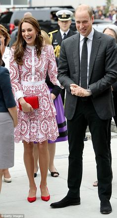 Catherine, Duchess of Cambridge and Prince William, Duke of Cambridge arrive to the Immigrant Services Society, a charitable organisation that provides targeted programs for refugees, women, children and youth, during their Royal Tour of Canada on September 25, 2016 in Vancouver, Canada.