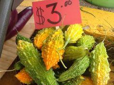 Citrus color bitter melon
