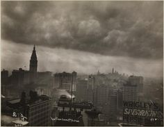 View-Manhattan 1913 South from 34th St. & 6th Ave.