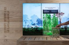BIODIVERSITY GARDEN_October, 2014 Permanent interactive installations Botanical Gardens Padua University