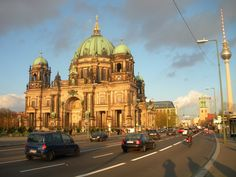 Berlin: Not one of my favorite places to go (it was a bit rushed), but some amazing people live here :)