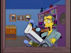 Paródia dos Simpsons ao filme Janela Indiscreta
