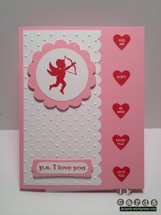 Stampin' Up!, 2012 Sale-A-Bration, 2012 Occasions Mini, P.S. I Love You, Candy Conversations, Valentine's Day, Punches