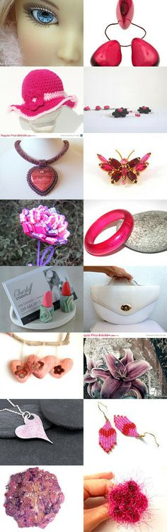 I'm a Barbie Girl  ~ 10% Off All Featured Shops ~ by Jennifer Cox on Etsy--Pinned with TreasuryPin.com