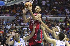 Japeth Aguilar shoots Ginebra to thrilling comeback win over Talk 'N Text | InterAksyon.com | Sports5 Towers, Comebacks, Victorious, Twin, Sports, San Miguel, Hs Sports, Tours, Tower