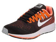 Mens Air Zoom Structure 20 BlackWhiteTotal Orange Running Shoe 8.5 Men US