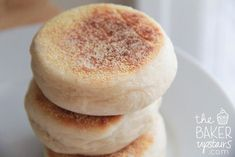 The Baker Upstairs: english muffins