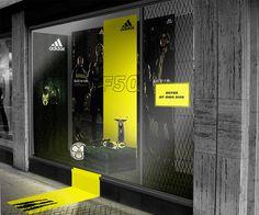 Adidas store window exhibit design in 2019 витрина, магазины Design Café, Display Design, Display Ideas, Retail Windows, Store Windows, Adidas Store, Wallpaper Magic, Retail Image, Shop Window Displays