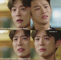 """Park Bo Gum ~ Kdrama """"I Remember You"""" - this scene broke my heart!"""