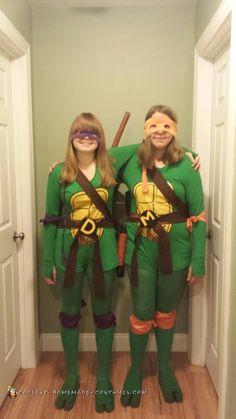 62 best ninja turtle costume ideas images on pinterest halloween shell shocking michaelangelo and donatello costumes solutioingenieria Image collections