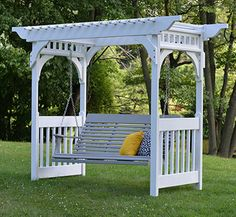 Swing Arbor - Kauffman Lawn Furniture