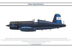 The Chance-Vought Corsair was developed as a high speed fighter based around the most powerful engine available at the time, the Double Wasp 18 cyl. Plastic Model Kits, Plastic Models, Fighter Aircraft, Fighter Jets, F4u Corsair, Military Weapons, Honduras, Wwii, Air Force