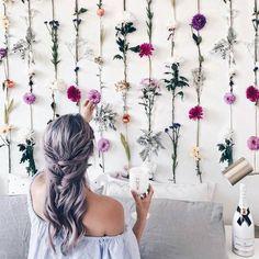 Uma parede que mais parece um jardimvia @lichipan