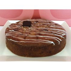 Flan Cake Cyprus - A moist sponge cake with syrup and several fresh fruits, baked in the oven.