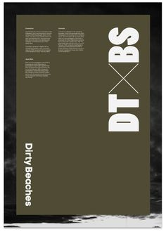 Dirty Beaches Poster