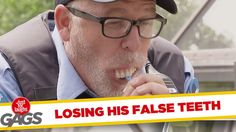 Cop Loses his Denture Prank - Funny Gags - Funny Video Dose Funny Gags, Funny Memes, Hilarious, Jokes, Funny Videos, Just For Laughs Gags, Laughing So Hard, Pranks, Teeth