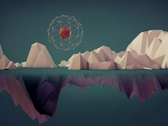 Dribbble - Fifty.Nine by Junichi Otake | 3D | Low Poly