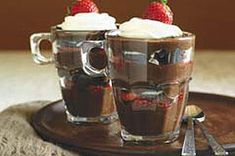 Chocolate, Strawberry & Cookie Parfaits recipe-looks nice in a stemless wine glass